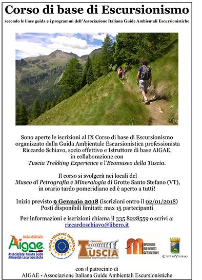 Corso di Base di Escursionismo